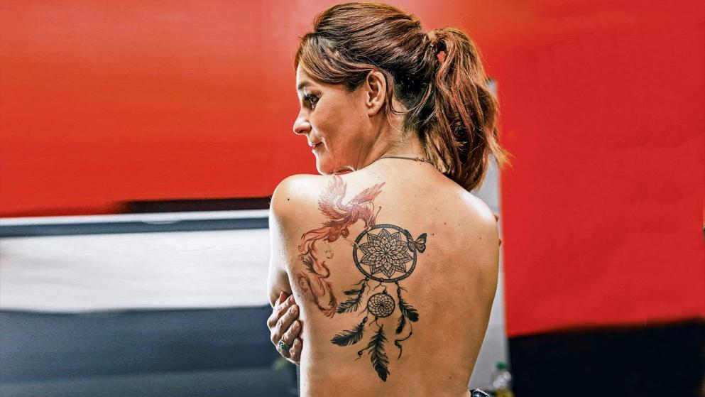 Tattoo Andrea Berg